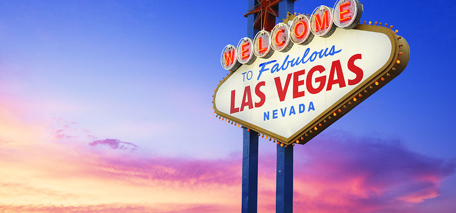 Silvester in Las Vegas: 7 Tage im fabelhaft bewerteten 4* Hotel direkt am Strip inkl. Flug ab Wien um 991 Euro