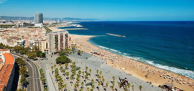Silvester am strand 4 tage barcelona im ausgezeichneten 4 for Designhotel am strand